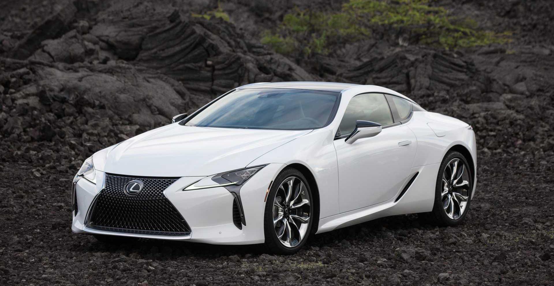 Lexus LC 2021 chính thức lộ diện