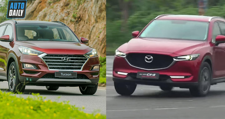 900 triệu, chọn Mazda CX5 2020 hay Hyundai Tucson 2020