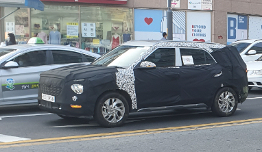 Hyundai Creta phiên bản 7 chỗ lộ diện trên phố