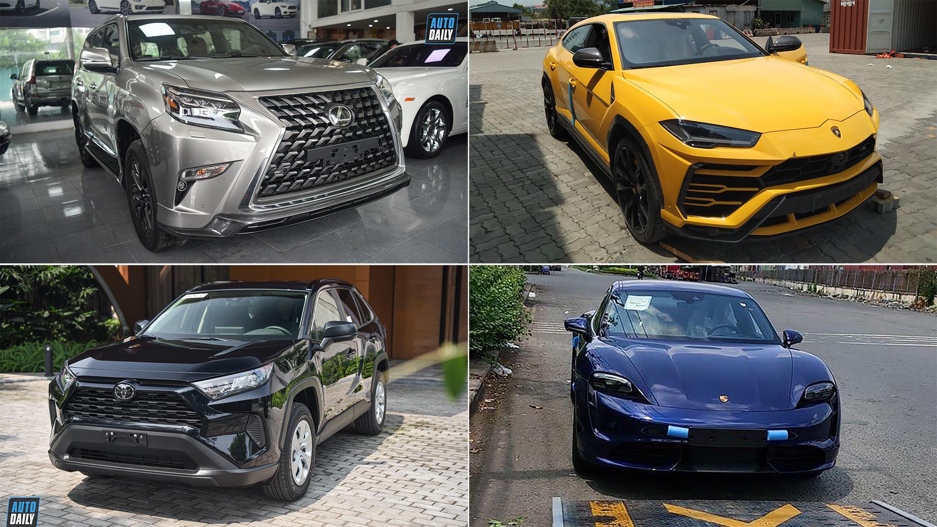 Top 5 mẫu xe hot vừa về Việt Nam - Urus 4 chỗ cực độc, RAV4 giá cao hơn GLC300