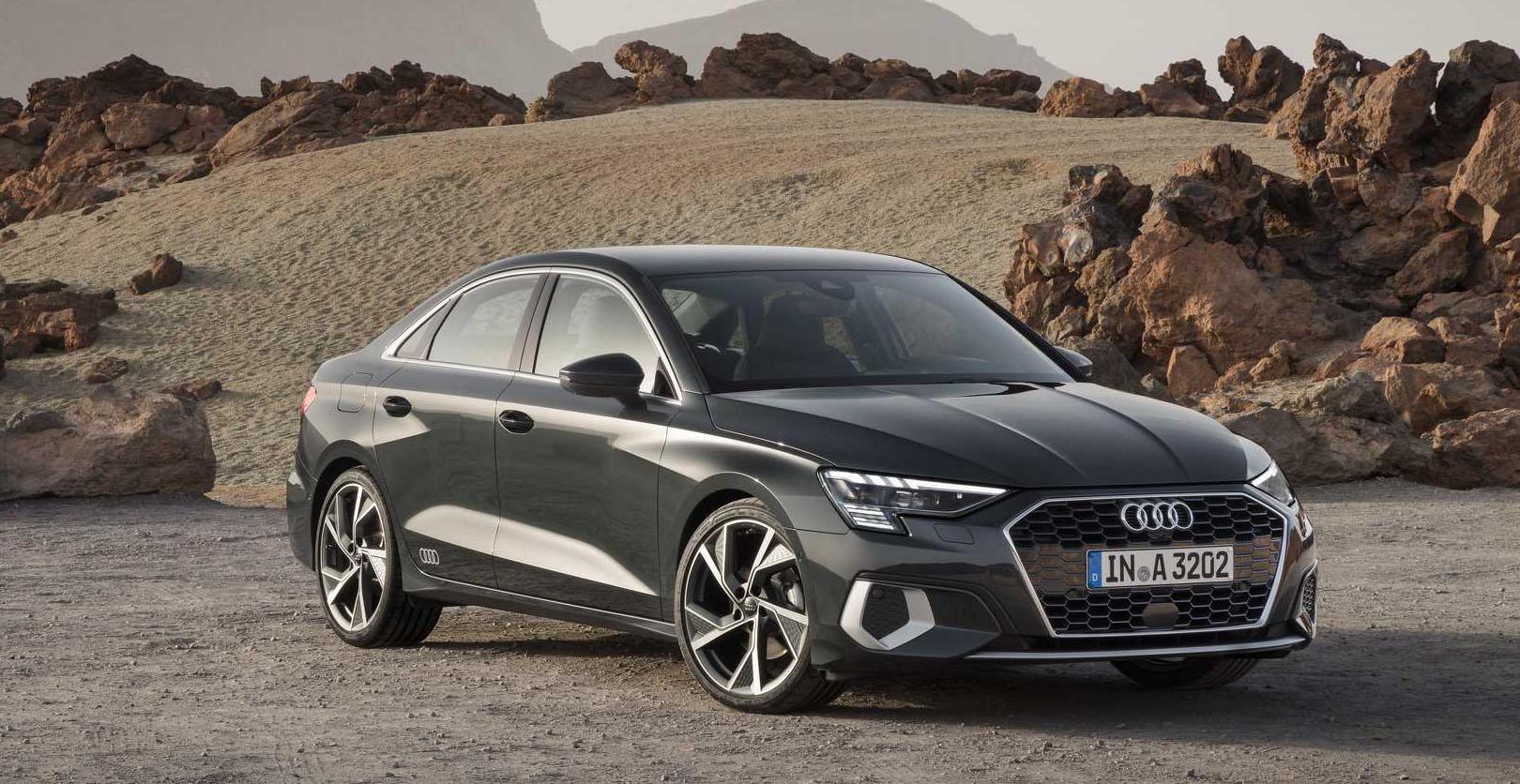 Audi A3 sedan 2021 ra mắt với thiết kế lột xác