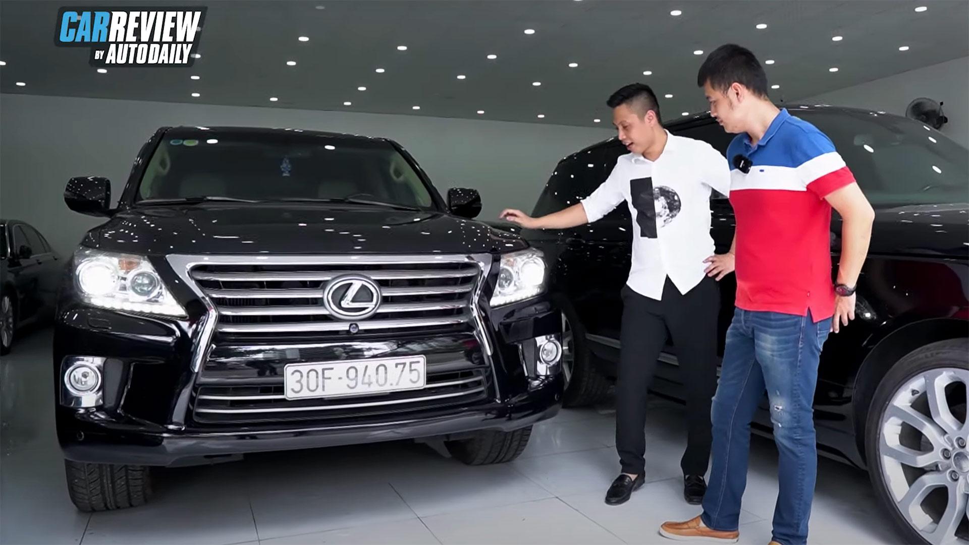 """""""Con nhà lành"""" Lexus LX570 2012 giá 3,6 tỷ"""