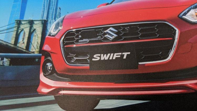 Suzuki Swift facelift 2020 lộ diện: Thể thao và cá tính hơn