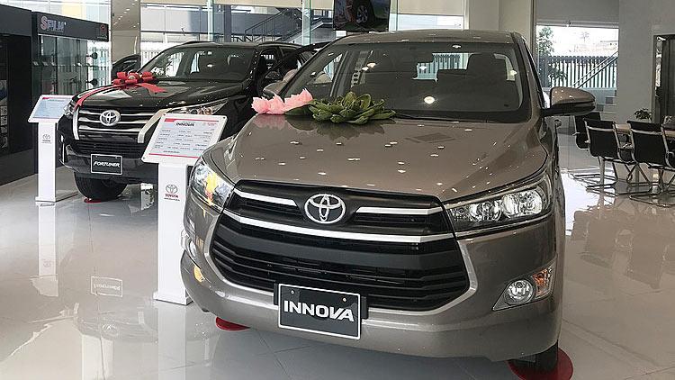 Toyota Việt Nam triệu hồi hơn 32.500 xe lỗi bơm nhiên liệu