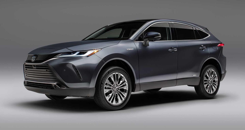 Toyota Venza 2021 chính thức lộ diện