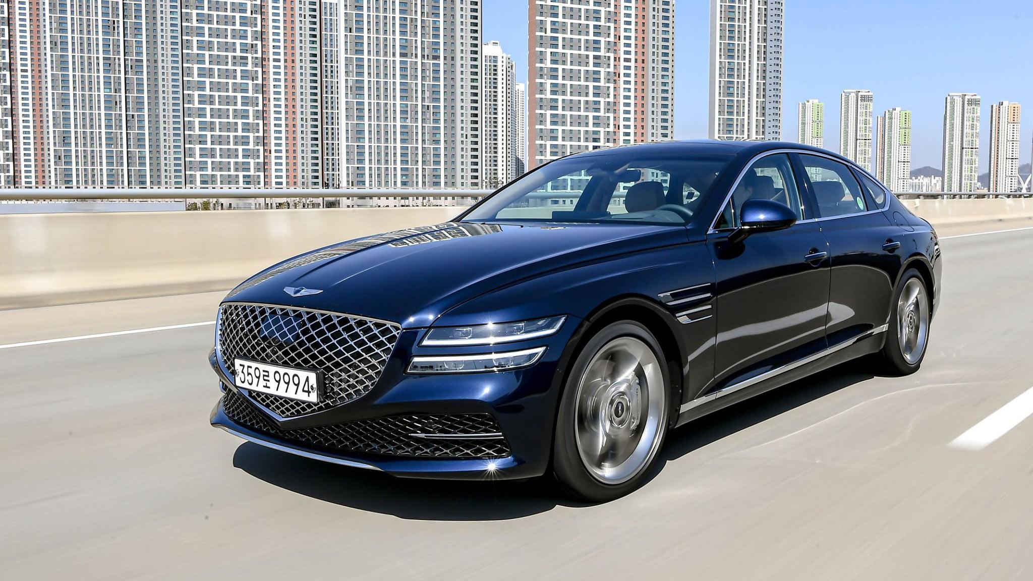 Genesis G80 2021 chốt giá từ 47.700 USD, rẻ hơn Mercedes E-Class 6.000 USD