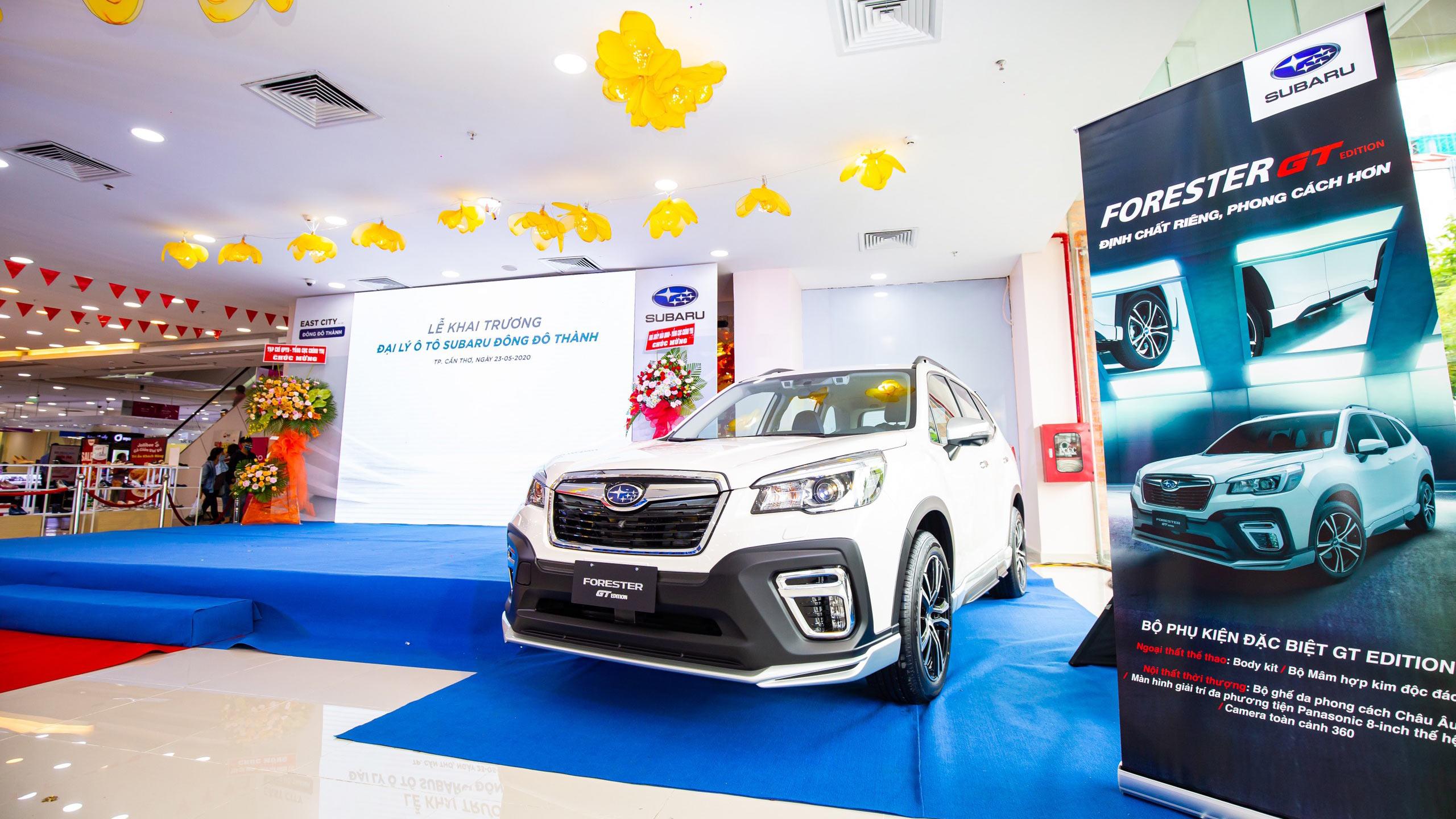 Subaru khai trương đại lý thứ 2 tại Đồng bằng sông Cửu Long