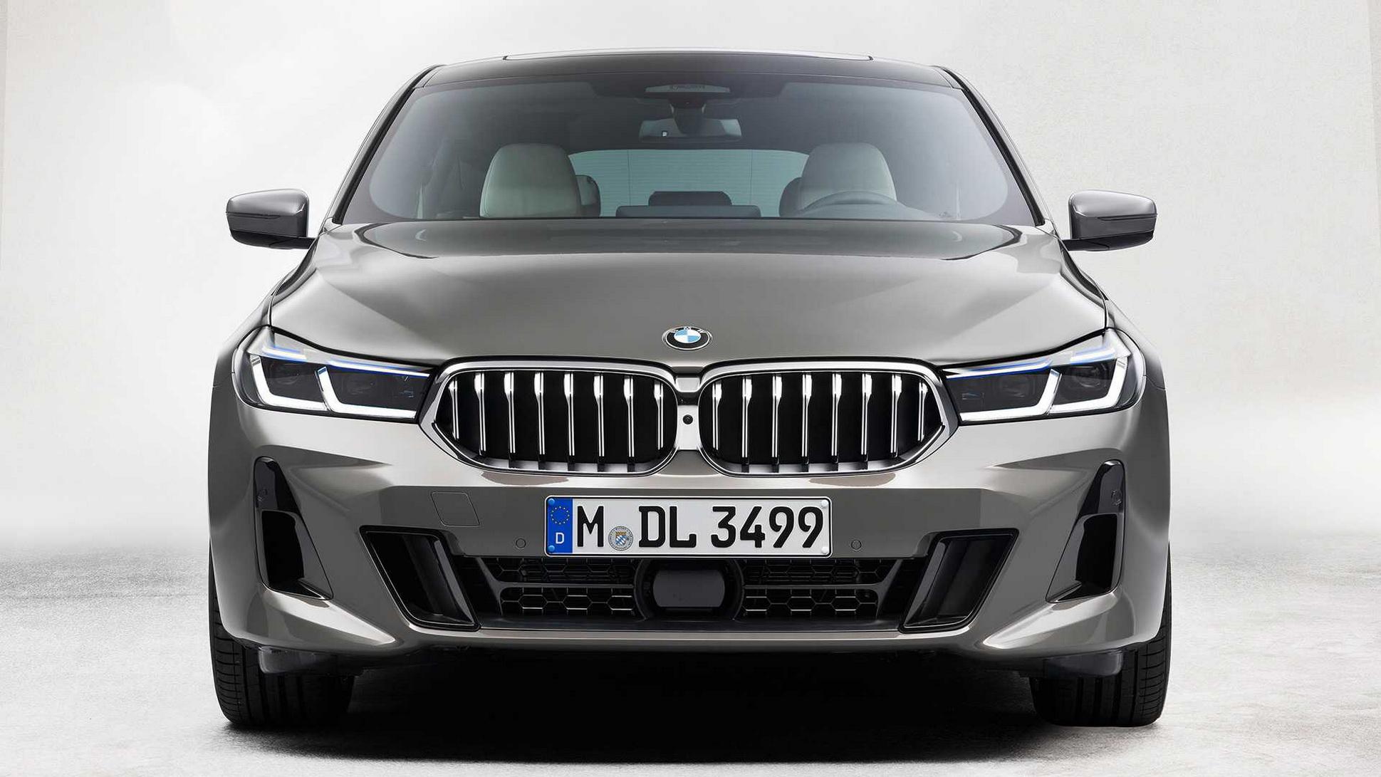 BMW 6-Series GT 2021 ra mắt với diện mạo cuốn hút hơn