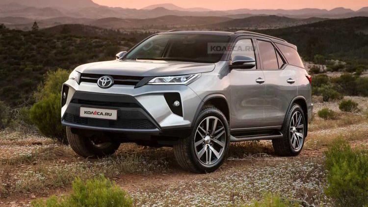 Toyota Fortuner 2021 ra mắt vào ngày 4/6?