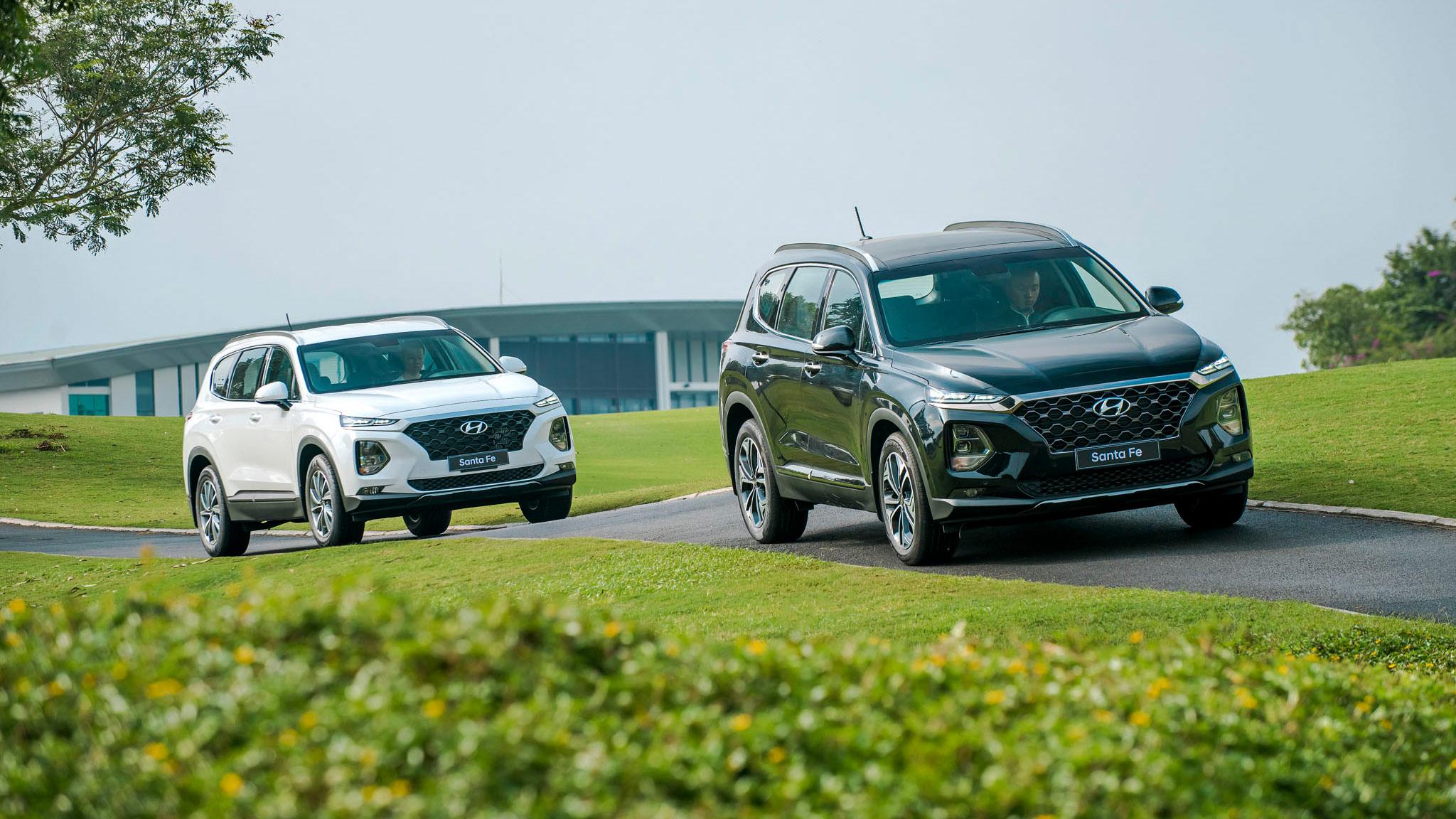 Phân khúc SUV 7 chỗ tháng 5/2020: Hyundai Santa Fe đắt khách hơn Toyota Fortuner