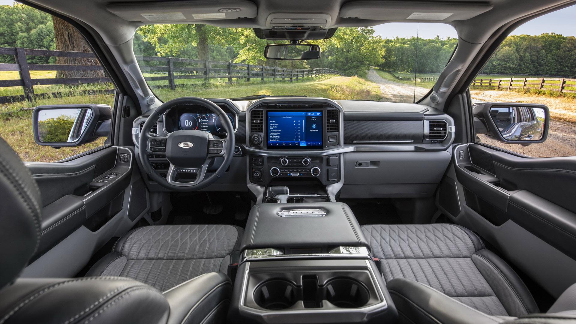 Choáng với nội thất siêu tiện nghi của Ford F-150 2021