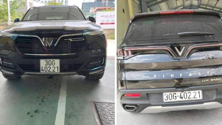 Giảm 50% phí trước bạ, khách hàng mua xe VinFast háo hức khoe đăng ký biển