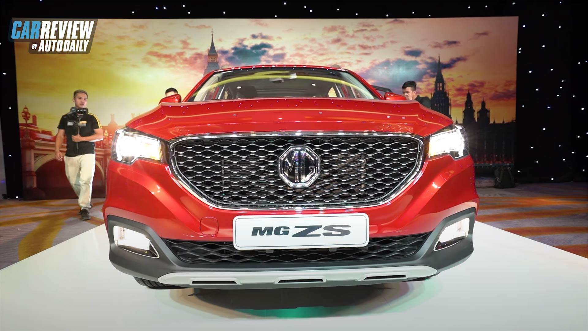 MG ZS 2020 có giá từ 518tr, cùng phân khúc Hyundai Kona, Honda HRV, Eco Sport