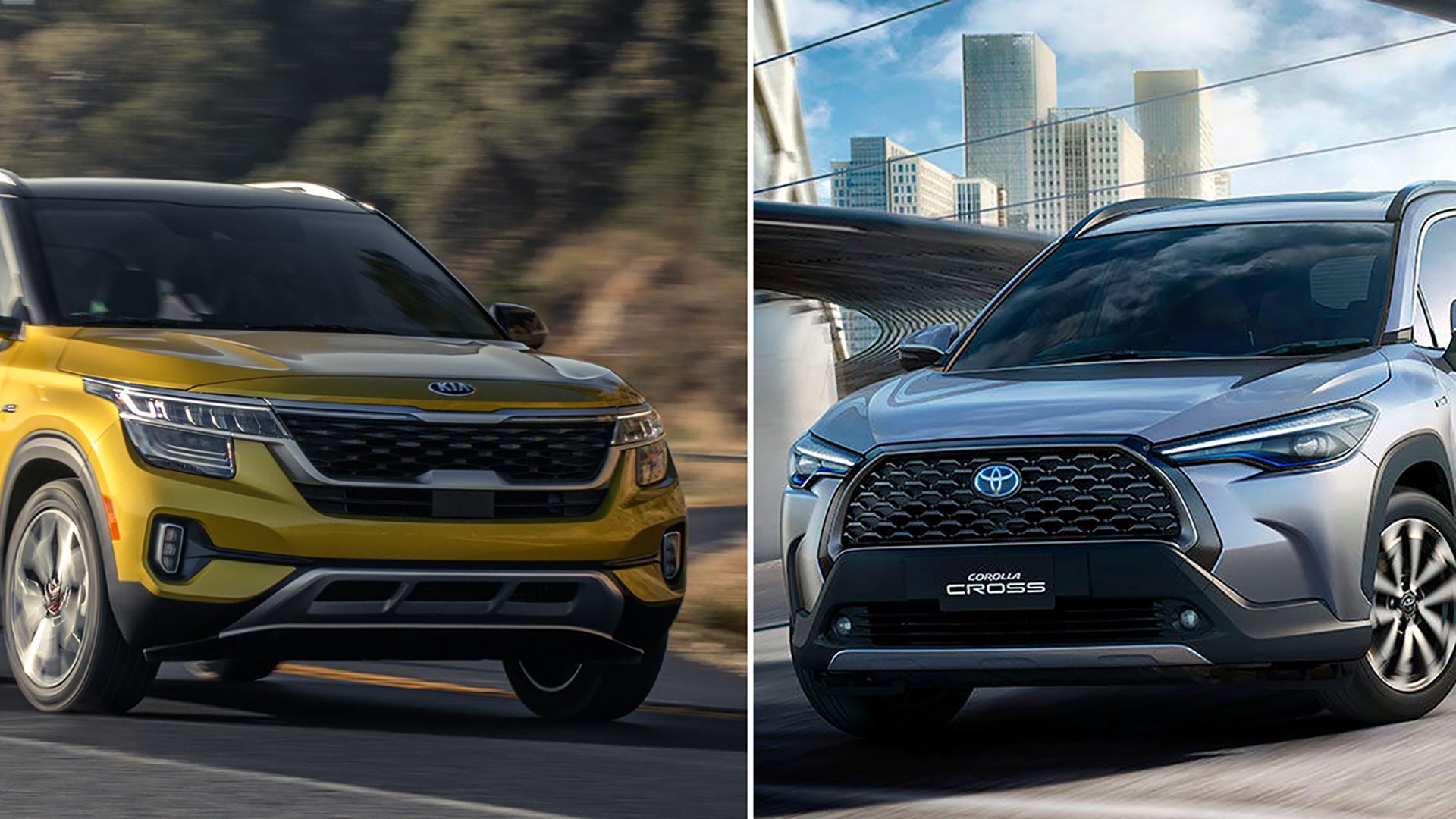 So sánh Kia Seltos và Toyota Corolla Cross - Cặp đôi SUV SIÊU HOT sắp về Việt Nam