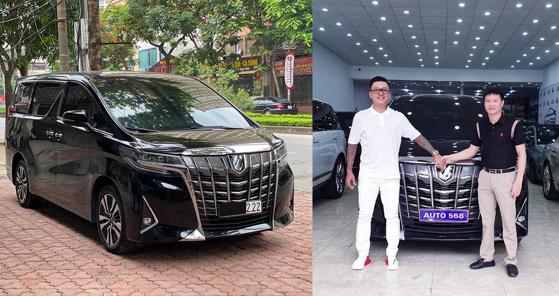 Tuấn Hưng mua Toyota Alphard siêu lướt giá gần 4 tỷ