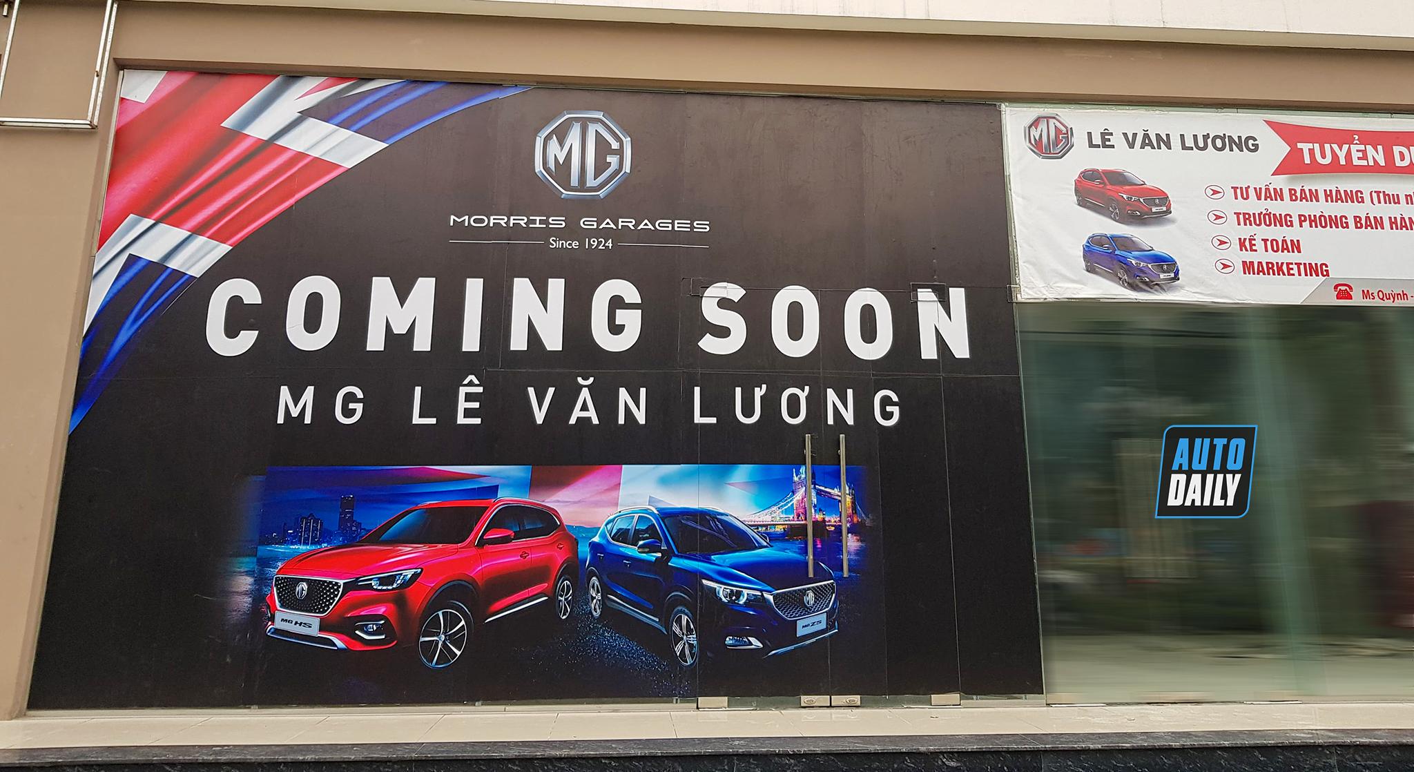 Lộ diện showroom MG đầu tiên tại Hà Nội