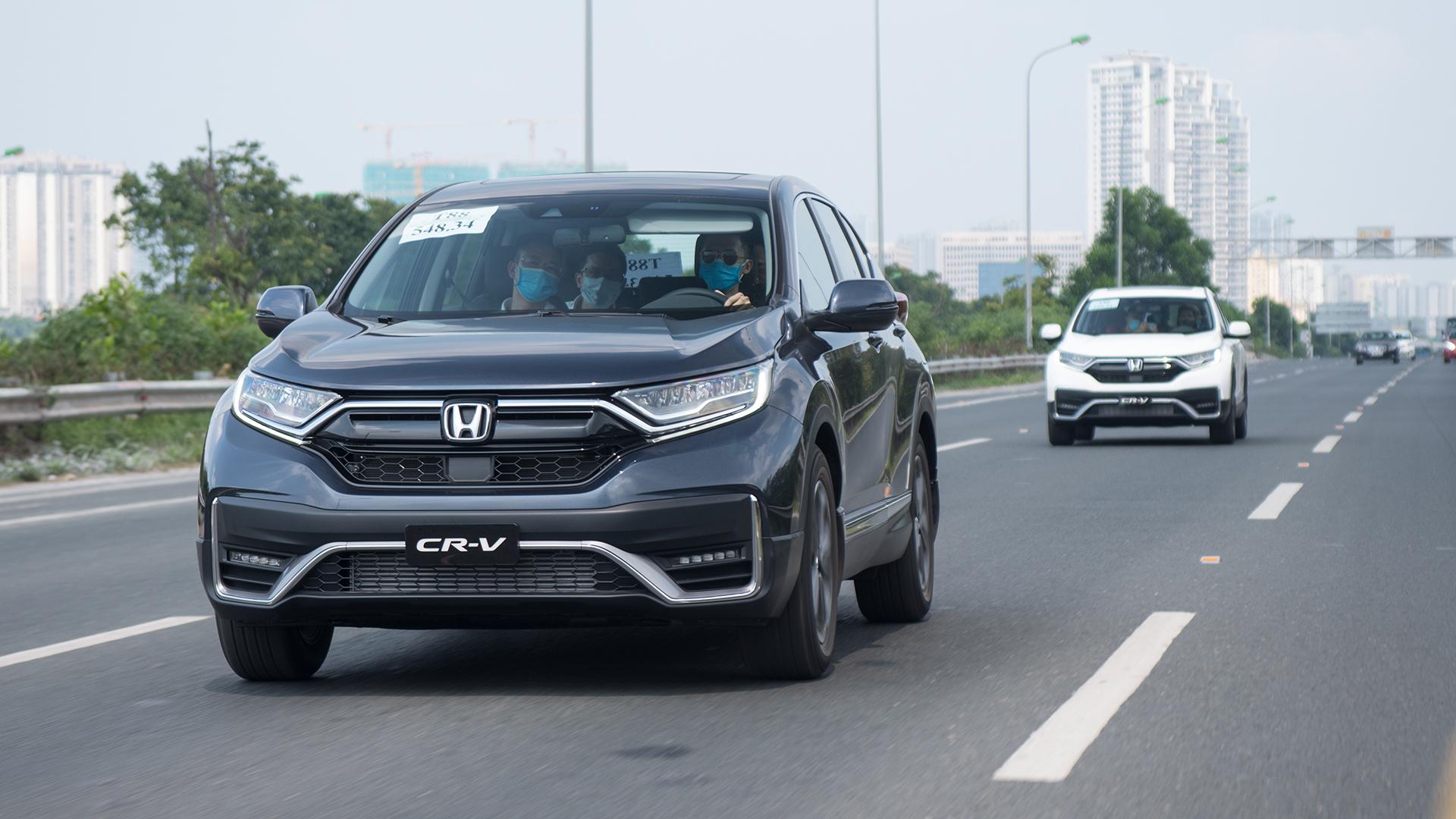 Chi tiết GIÁ LĂN BÁNH 3 phiên bản Honda CR-V 2020 - Cao nhất 1,2 tỷ đồng