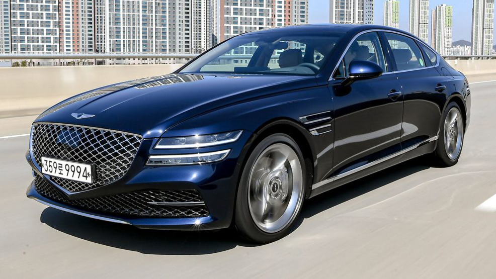 Qua mặt Mercedes và BMW, Genesis là thương hiệu xe sang đắt khách nhất tại Hàn Quốc