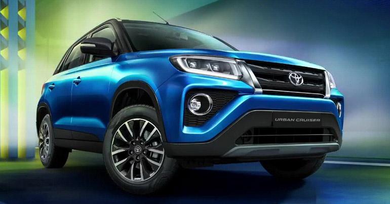Toyota Urban Cruiser 2021 – 'tiểu Fortuner' chính thức lộ diện