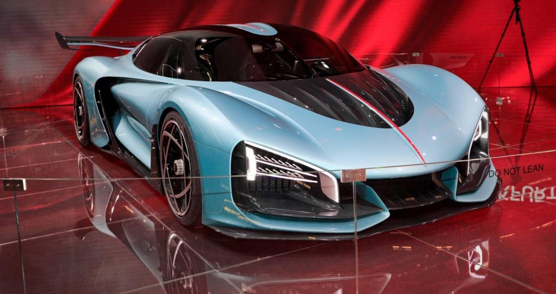 Siêu xe Trung Quốc Hongqi S9 mạnh 1.400 mã lực sắp được đưa vào sản xuất