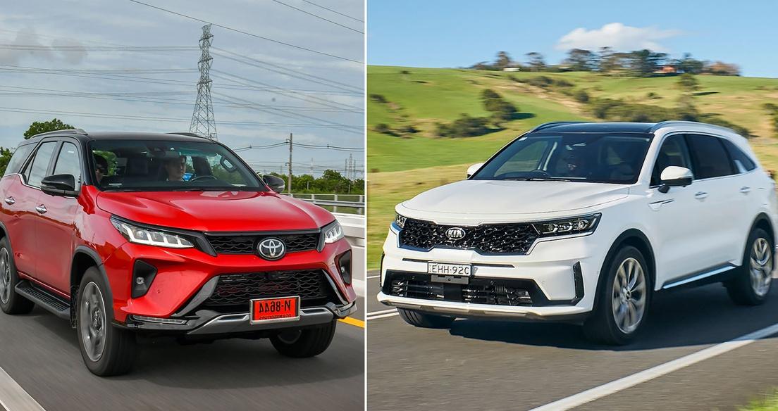 Bộ 3 SUV 7 chỗ SIÊU HOT sắp ra mắt tại Việt Nam - Kia Sorento 2021 đấu Toyota Fortuner 2021