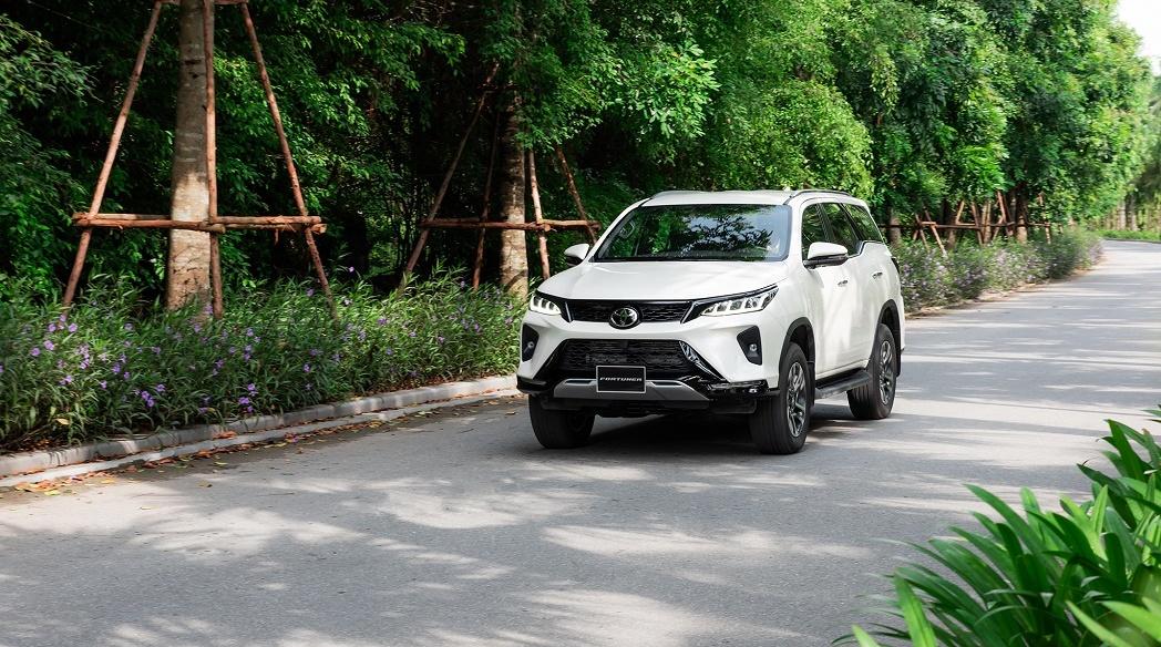 Giá lăn bánh các phiên bản Toyota Fortuner 2021 tại Việt Nam