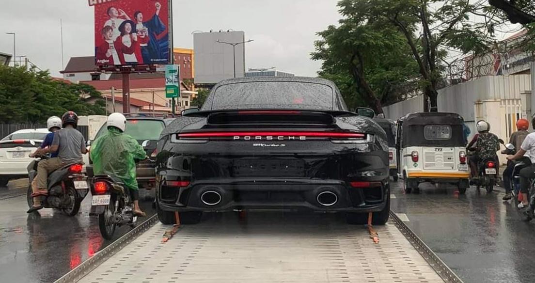 Đại gia Campuchia tậu hàng khủng Porsche 911 Turbo S 2021