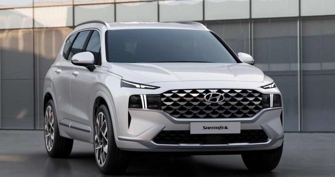 Những thay đổi ĐÁNG GIÁ trên Hyundai Santa FE 2021, về Việt Nam dự sẽ hot