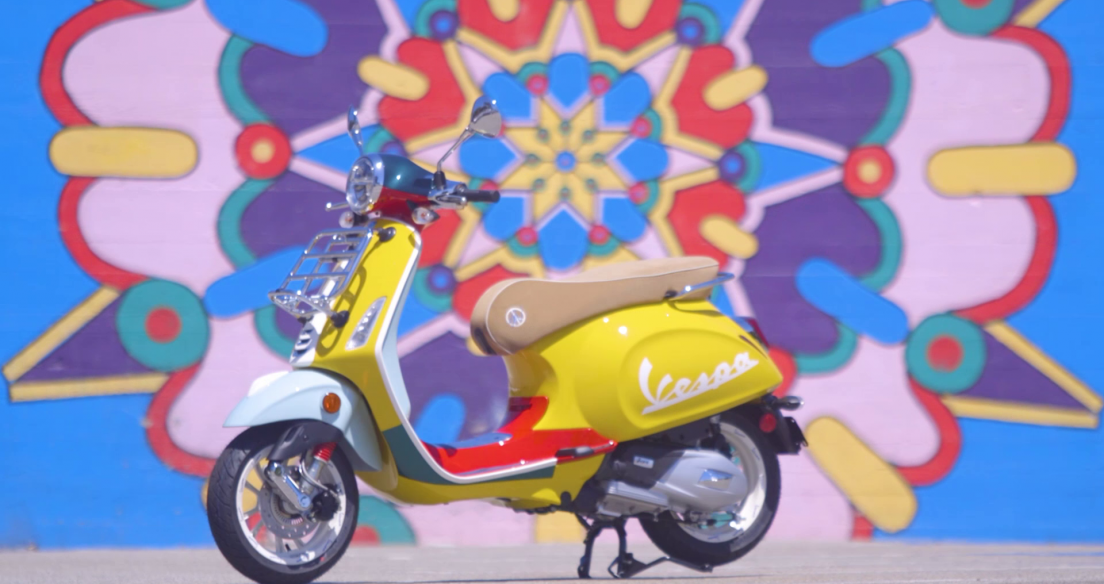 Cảm hứng tạo nên phiên bản đặc biệt Vespa Primavera Sean Wotherspoon