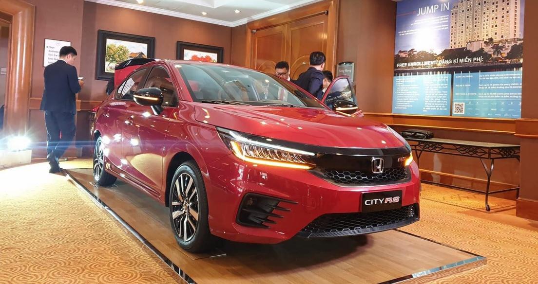 Honda City 2021 tiếp tục lộ 'ảnh nóng' trước ngày ra mắt tại Việt Nam
