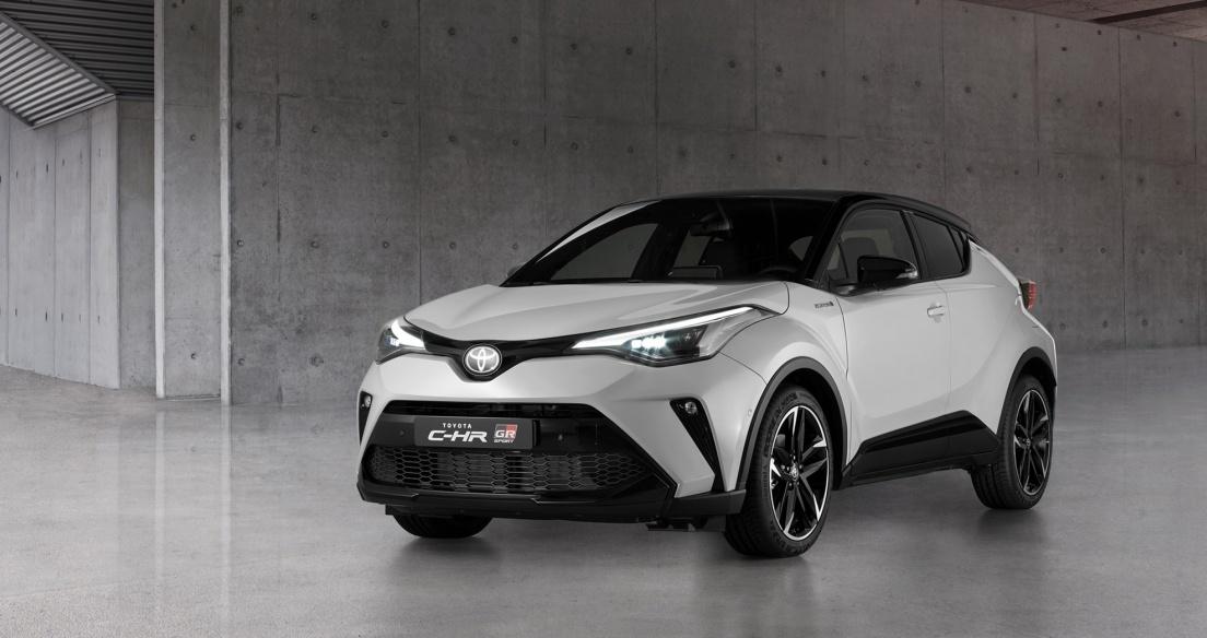 Toyota C-HR 2021 ra mắt, bổ sung phiên bản GR Sport