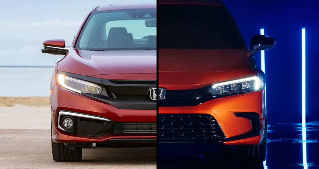 So sánh thiết kế Honda Civic 2022 với Civic 2021: Xe nào đẹp hơn?