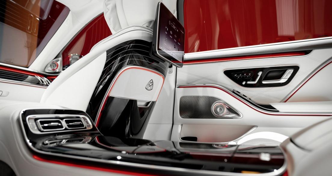 Đỉnh cao nội thất Mercedes-Maybach S Class 2021