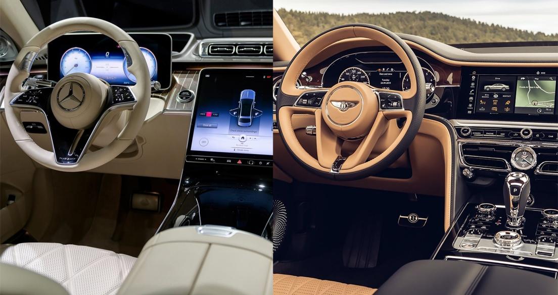 2021 Maybach S Class vs 2021 Bentley Flying Spur INTERIOR - Siêu sang đích thực