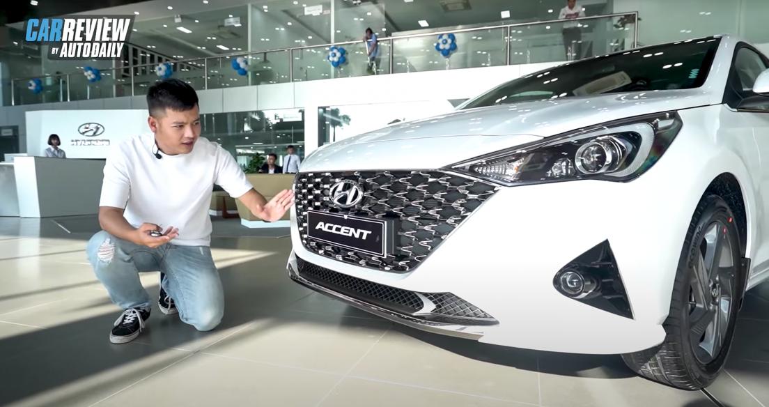"""BÓC TEM """"hàng nóng"""" Hyundai Accent 2021, cao nhất 542 triệu, đối thủ lớn của Toyota Vios"""