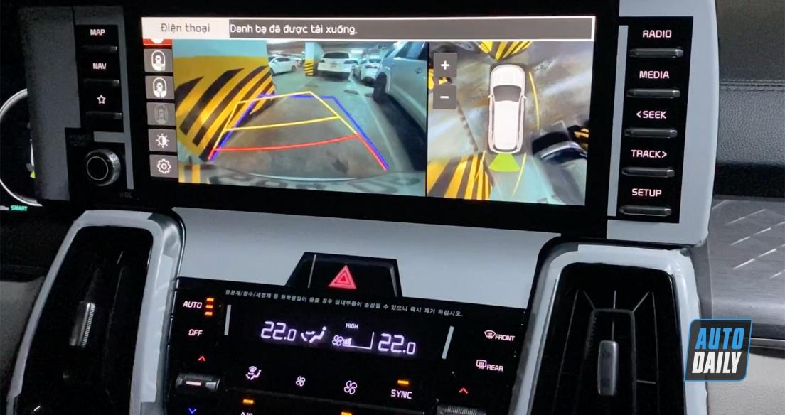 Test camera 360 trên Kia Sorento 2021 - Thực sự đáng tiền?