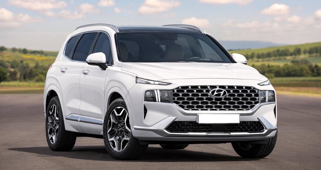 Hyundai SantaFe 2021 - Chi tiết nội, ngoại thất, chờ về Việt Nam