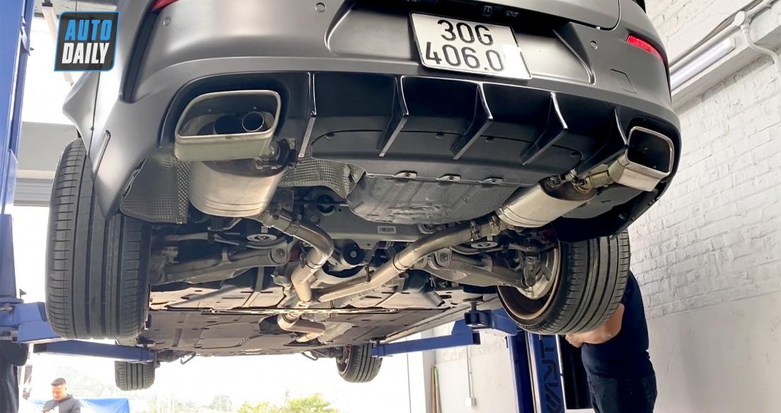 Gầm ô tô VinFast Lux A2.0 - 1-2 năm vẫn còn QUÁ CHẤT