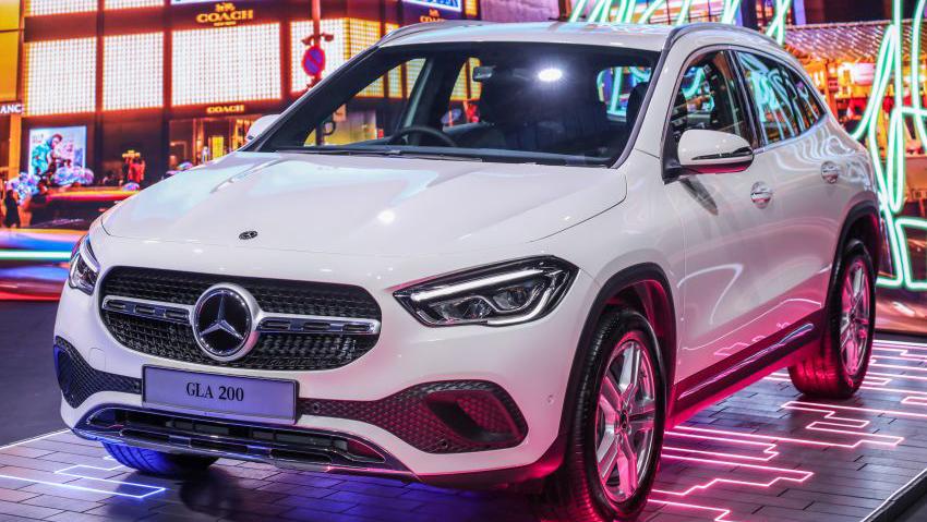 Mercedes-Benz GLA 2021 ra mắt tại Malaysia, giá từ 60.100 USD, chờ về VN