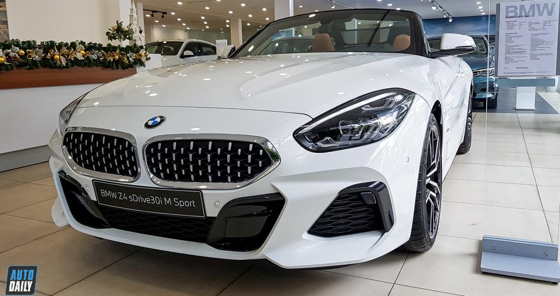 Diện kiến BMW Z4 sDrive 30i 2020 chính hãng giá khoảng 3,3 tỷ đồng