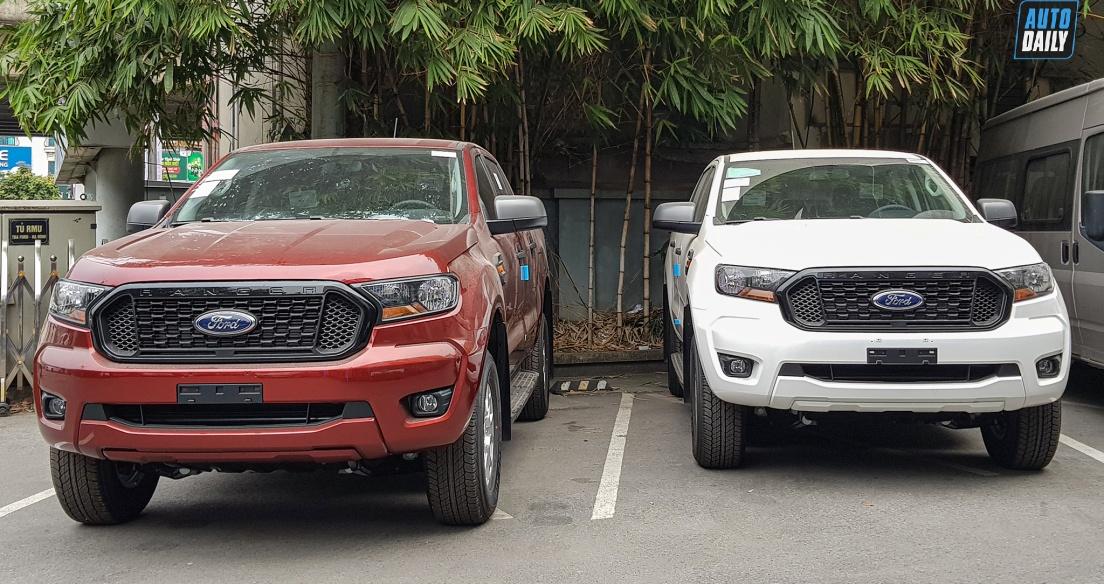 Ford Ranger 2021 về đại lý, giá từ 616 triệu đồng