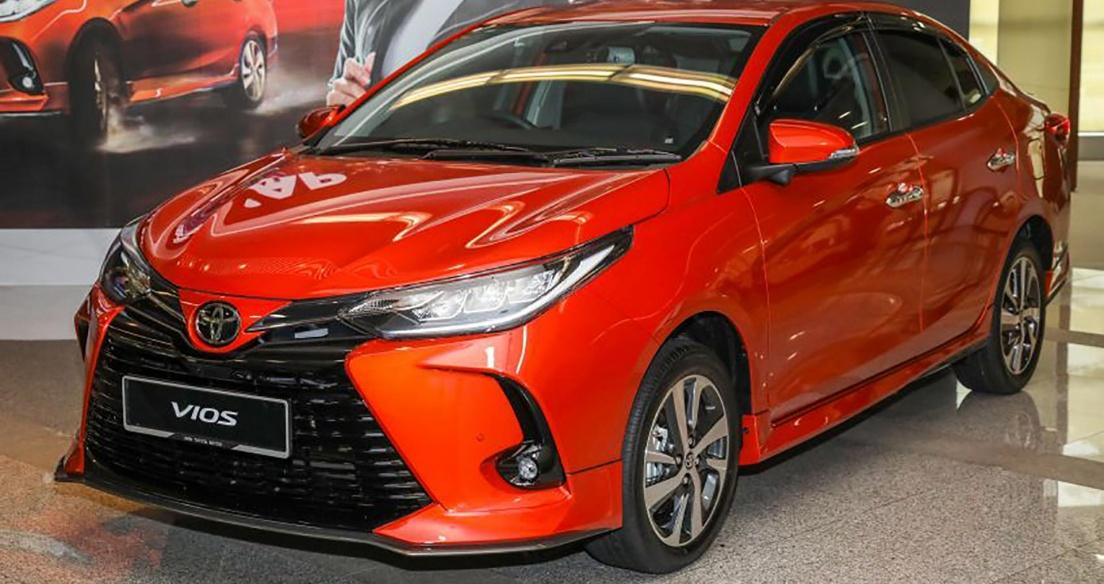 Toyota Vios 2021 ra mắt tại Malaysia với nhiều nâng cấp, giá từ 18.440 USD