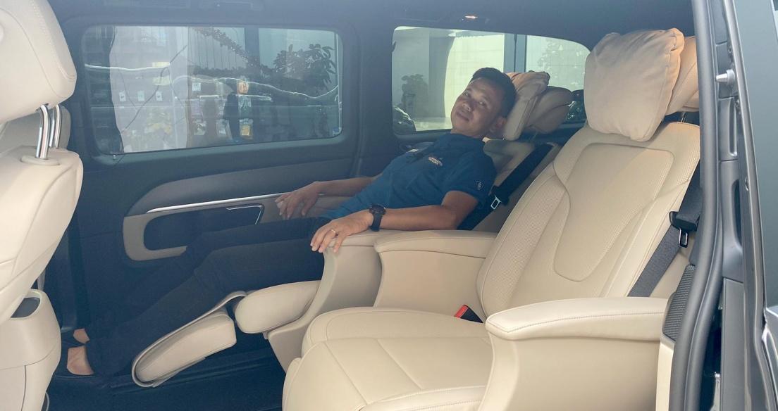 Chỉ hơn 3 tỷ mua Mercedes V250 AMG đã có trải nghiệm ghế thương gia gần giống Maybach