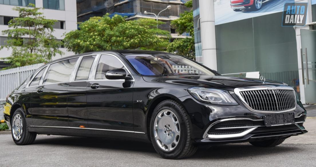 Limousine siêu sang cho 'Chủ tịch' Mercedes-Maybach S650 Pullman đẳng cấp cỡ nào?