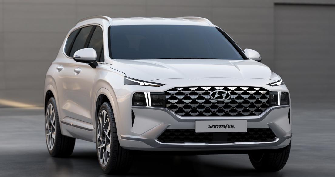Hyundai Santa Fe 2021 có bản đầu bảng Calligraphy đầy công nghệ xịn sò, chờ về Việt Nam