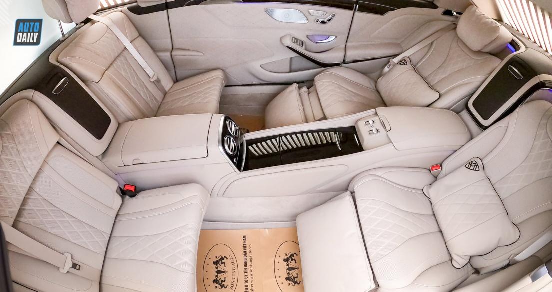 ĐỘT NHẬP nội thất 3 khoang CỰC ĐỈNH của Mercedes Maybach S650 Pullman 2020 đầu tiên tại Việt Nam