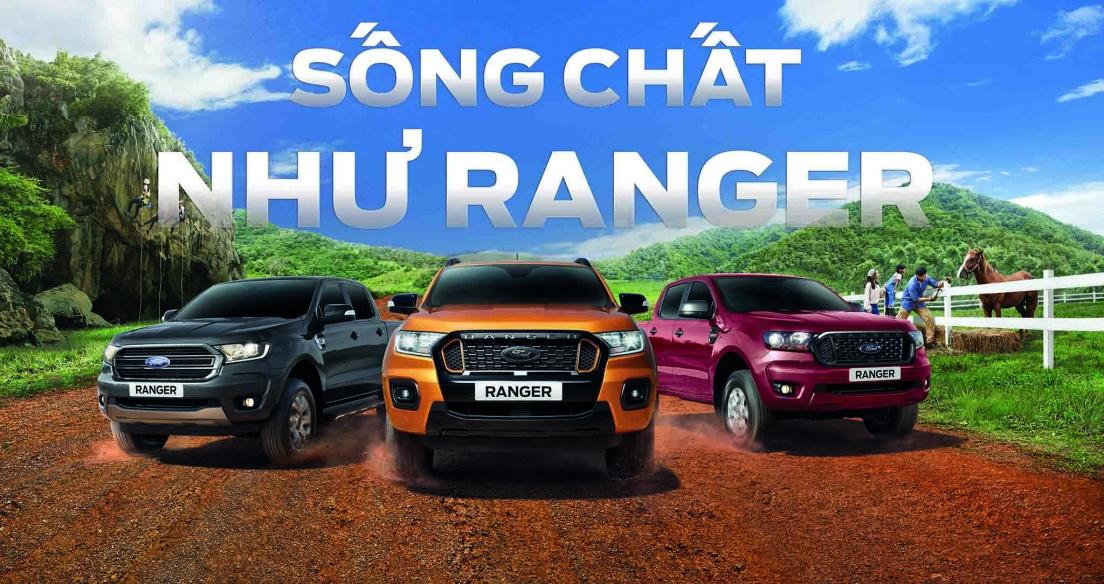 Ford khởi động chiến dịch thương hiệu mới Live The Ranger Life