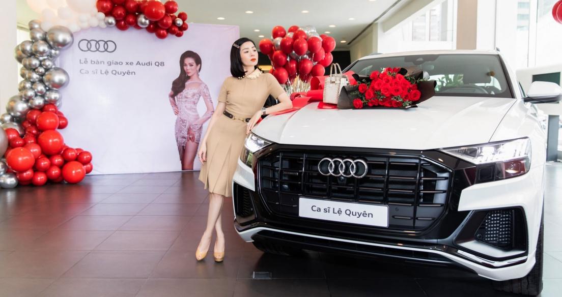 Ca sĩ Lệ Quyên tậu Audi Q8 chính hãng tại Việt Nam