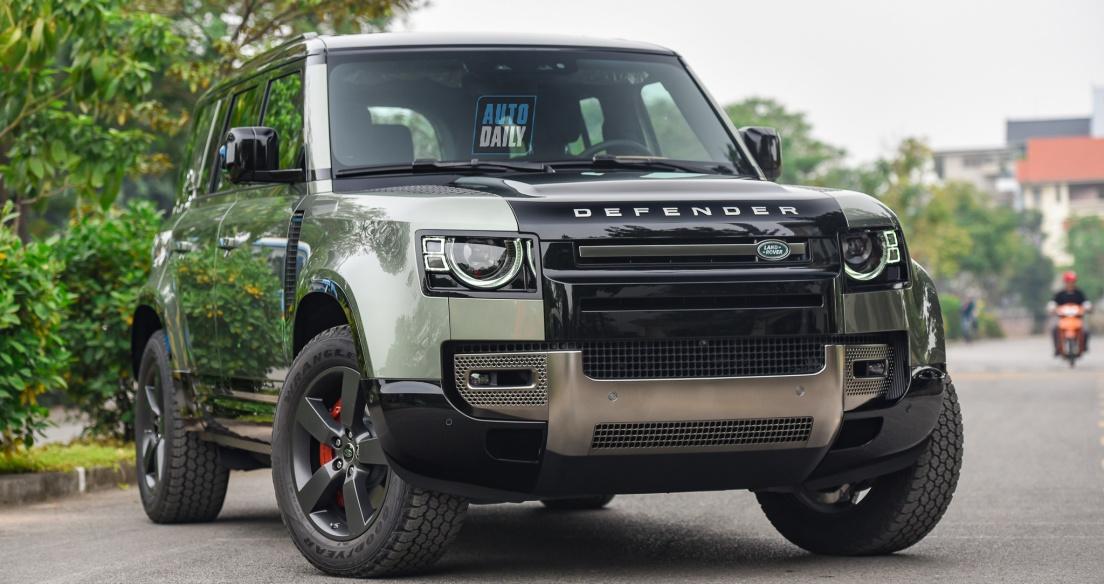 Chi tiết Land Rover Defender 2020 phiên bản đắt nhất tại Việt Nam