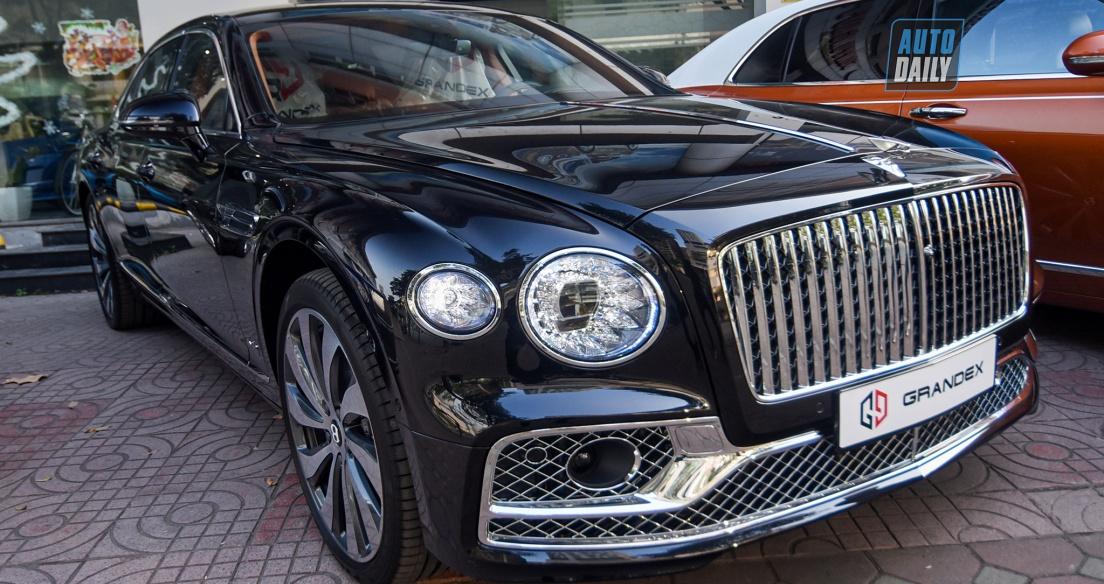 Khám phá sedan siêu sang Bentley Flying Spur W12 2020 bản First Edition tại Việt Nam